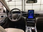 Silver[Iconic Silver Metallic] 2021 Ford Explorer Strng Wheel: Frm Rear in Dartmouth NS