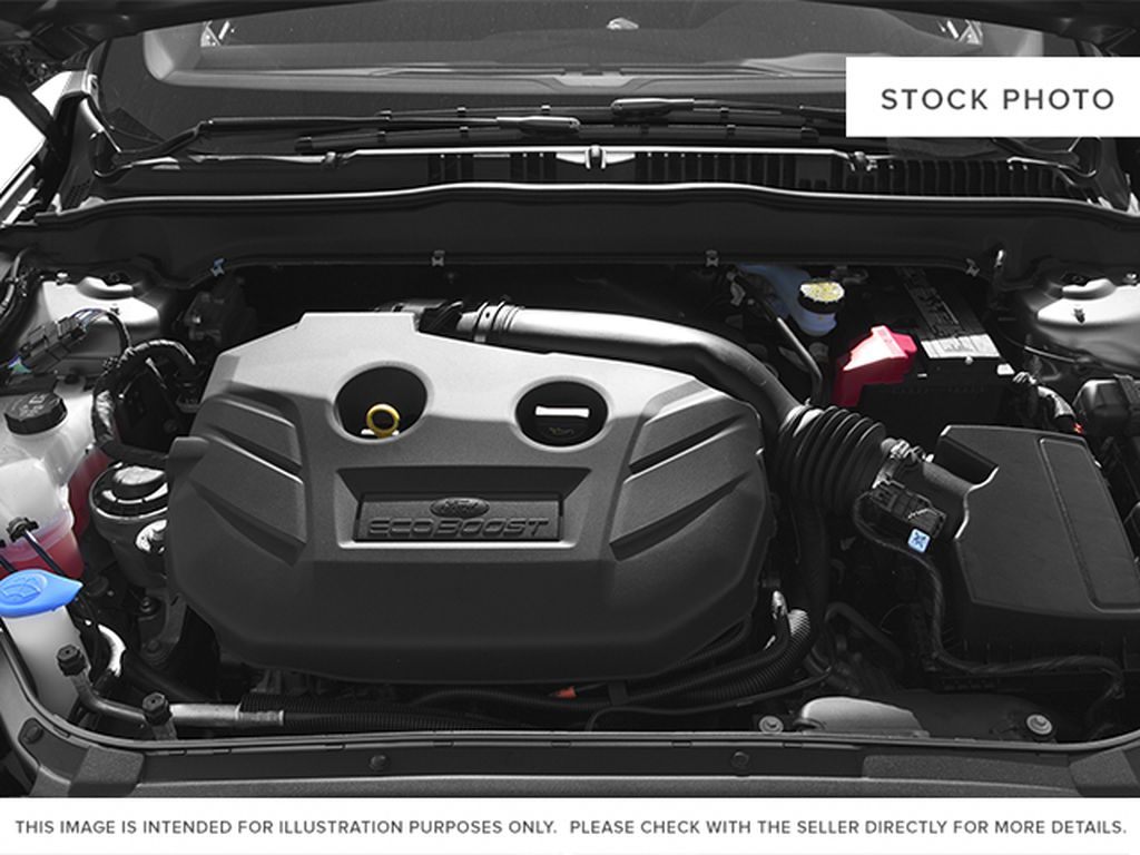 Silver[Ingot Silver] 2014 Ford Fusion Engine Compartment Photo in Dartmouth NS