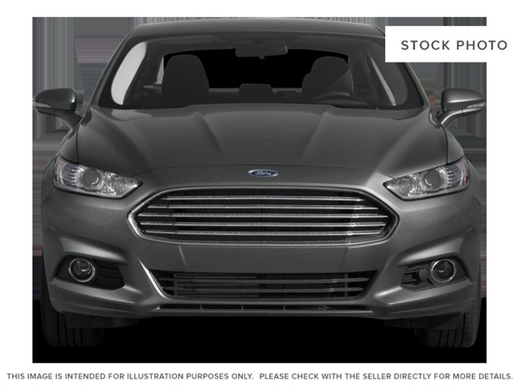 Silver[Ingot Silver] 2014 Ford Fusion Front Vehicle Photo in Dartmouth NS