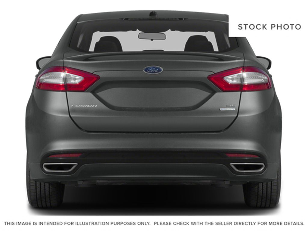 Silver[Ingot Silver] 2014 Ford Fusion Rear of Vehicle Photo in Dartmouth NS