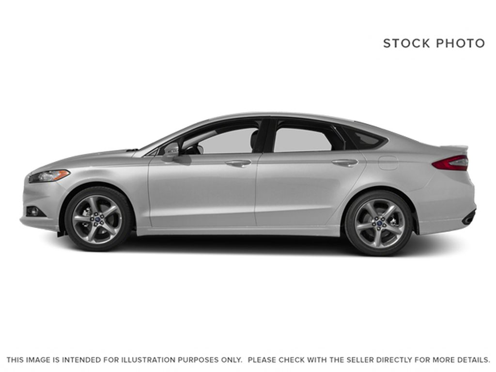 Silver[Ingot Silver] 2014 Ford Fusion Left Side Photo in Dartmouth NS