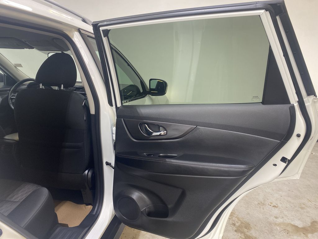 WHITE 2020 Nissan Rogue S AWD - Backup Camera, Bluetooth, Blind Spot Monitor Right Rear Interior Door Panel Photo in Edmonton AB