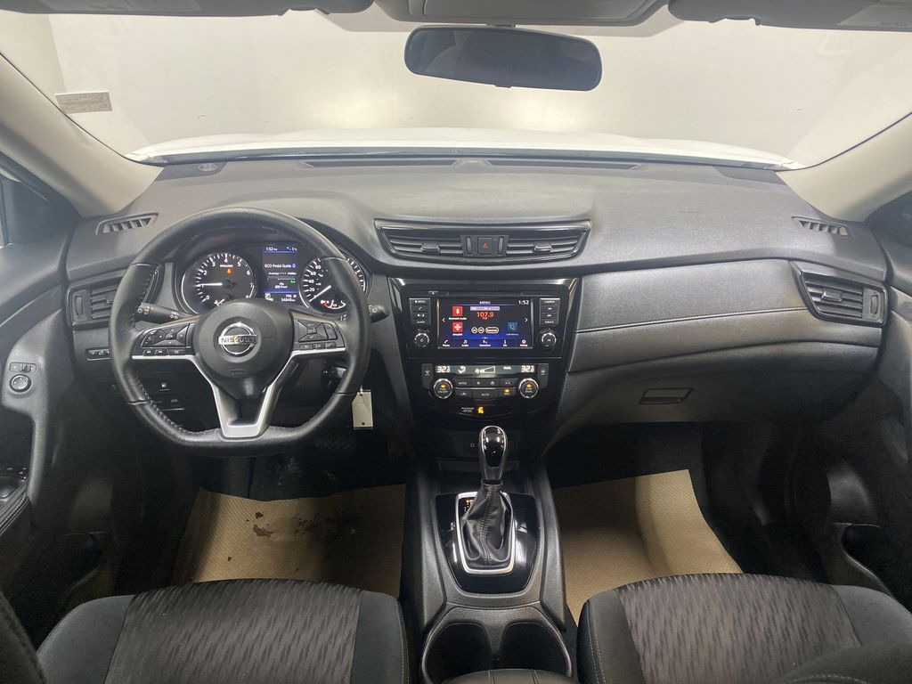 WHITE 2020 Nissan Rogue S AWD - Backup Camera, Bluetooth, Blind Spot Monitor Strng Wheel/Dash Photo: Frm Rear in Edmonton AB