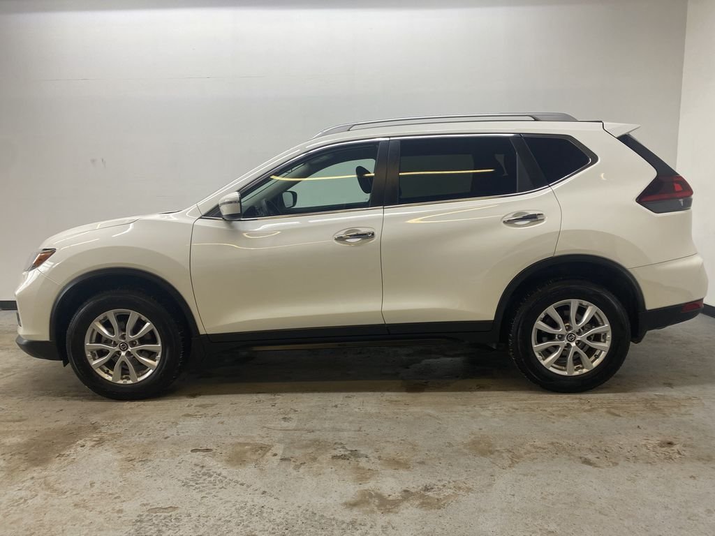 WHITE 2020 Nissan Rogue S AWD - Backup Camera, Bluetooth, Blind Spot Monitor Left Side Photo in Edmonton AB