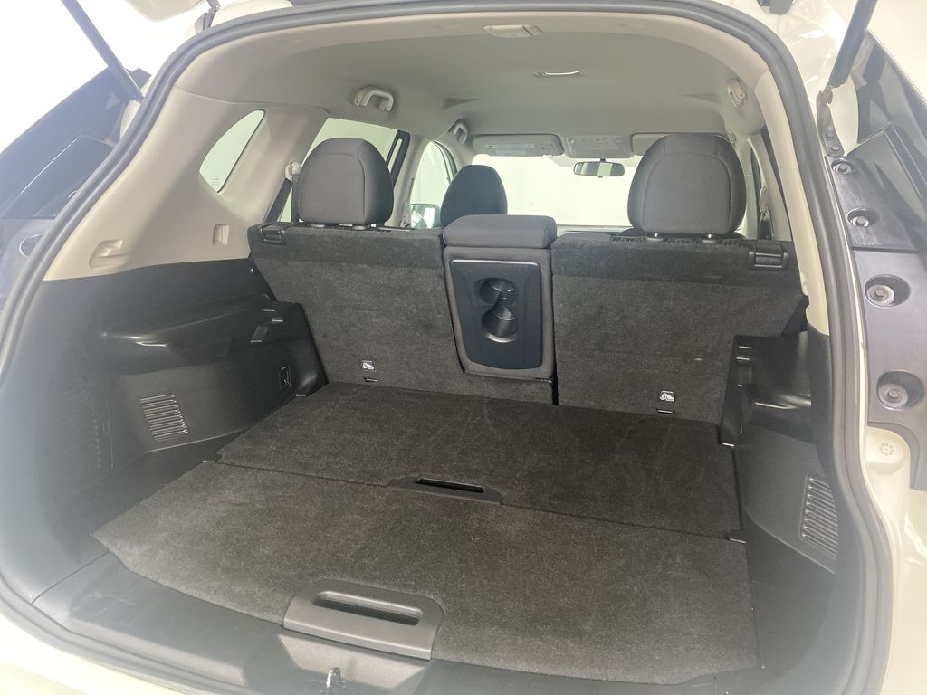 WHITE 2020 Nissan Rogue S AWD - Backup Camera, Bluetooth, Blind Spot Monitor Trunk / Cargo Area Photo in Edmonton AB