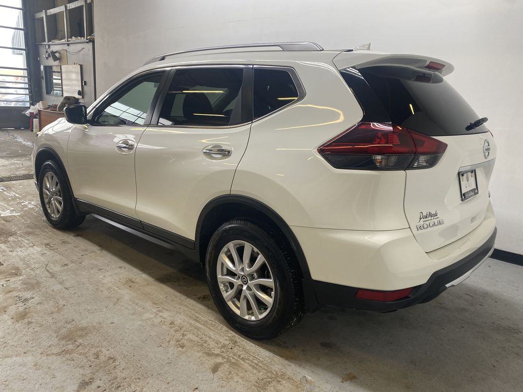 WHITE 2020 Nissan Rogue S AWD - Backup Camera, Bluetooth, Blind Spot Monitor Left Rear Corner Photo in Edmonton AB