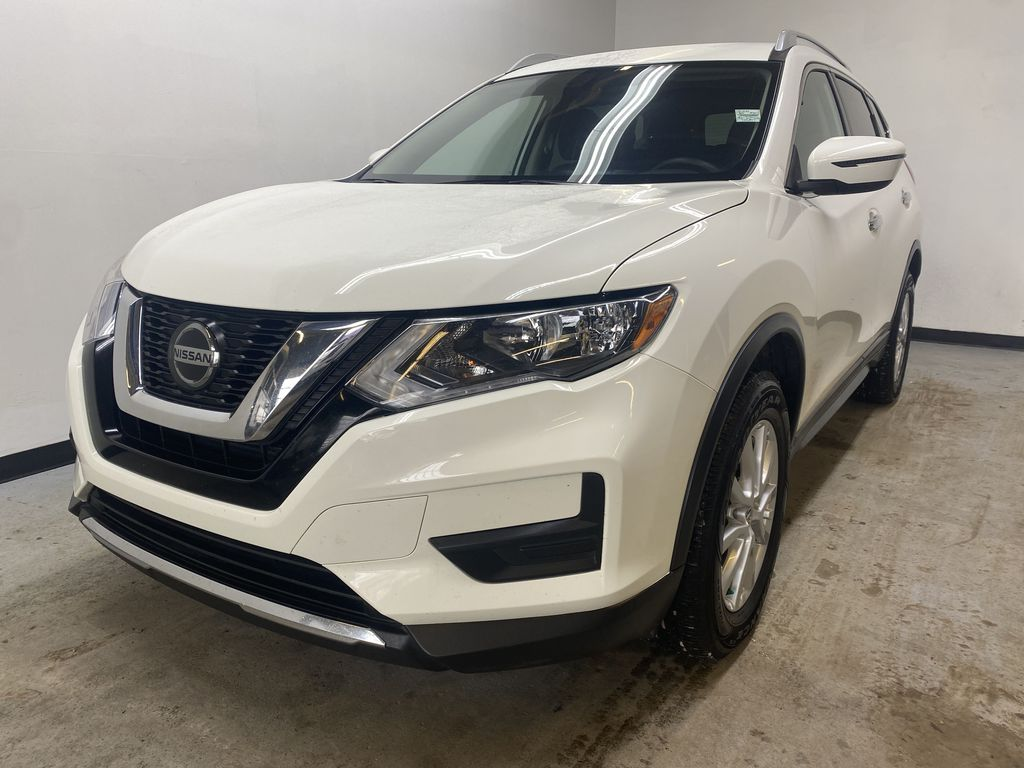 WHITE 2020 Nissan Rogue S AWD - Backup Camera, Bluetooth, Blind Spot Monitor Left Front Head Light / Bumper and Grill in Edmonton AB