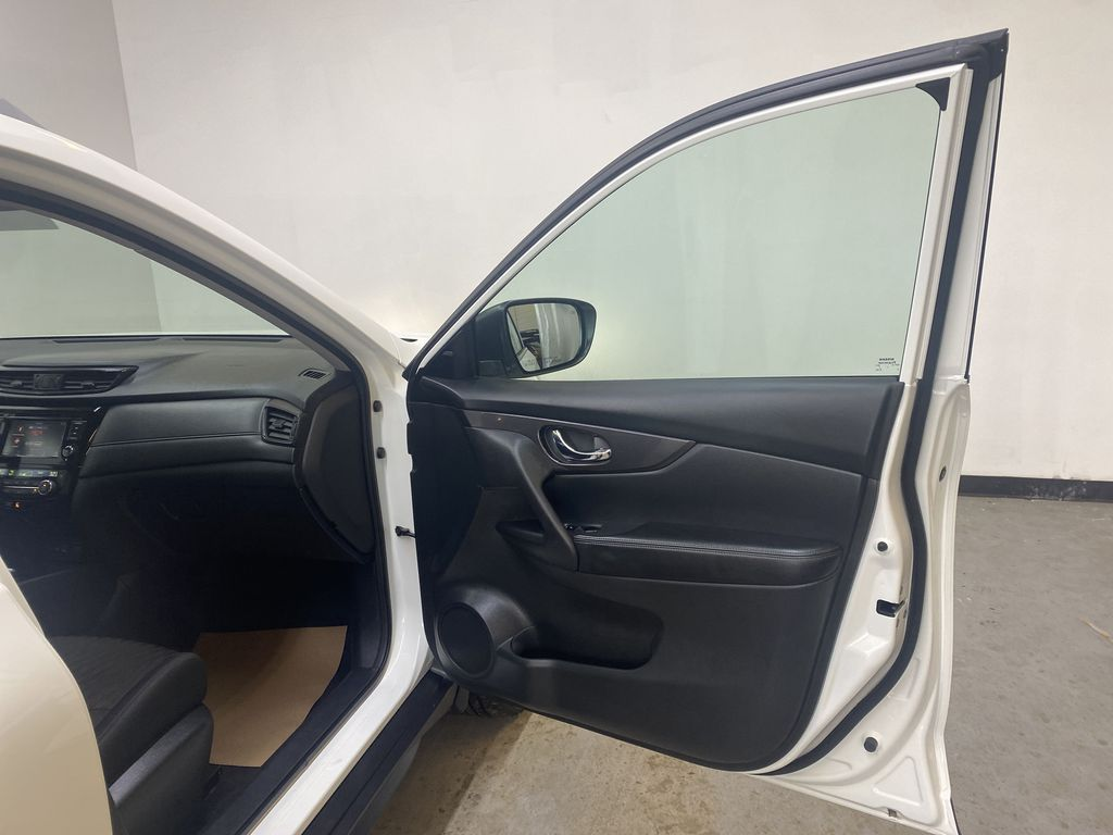 WHITE 2020 Nissan Rogue S AWD - Backup Camera, Bluetooth, Blind Spot Monitor Right Front Interior Door Panel Photo in Edmonton AB