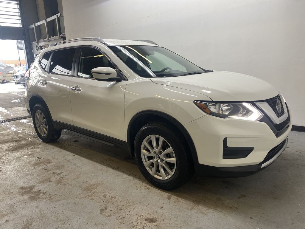 WHITE 2020 Nissan Rogue S AWD - Backup Camera, Bluetooth, Blind Spot Monitor Right Front Corner Photo in Edmonton AB