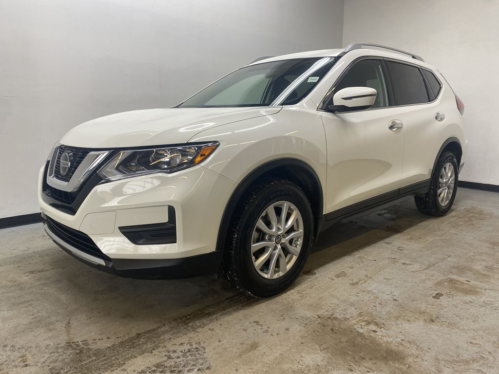 WHITE 2020 Nissan Rogue S AWD - Backup Camera, Bluetooth, Blind Spot Monitor Left Front Corner Photo in Edmonton AB