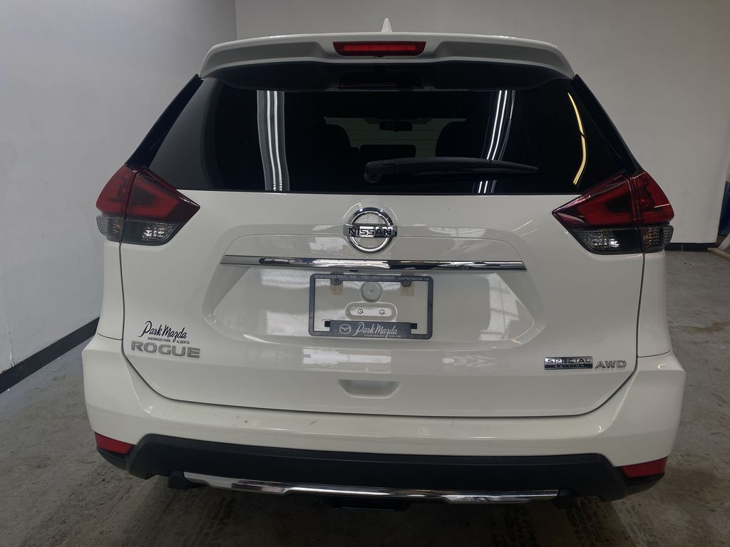 WHITE 2020 Nissan Rogue S AWD - Backup Camera, Bluetooth, Blind Spot Monitor Rear of Vehicle Photo in Edmonton AB