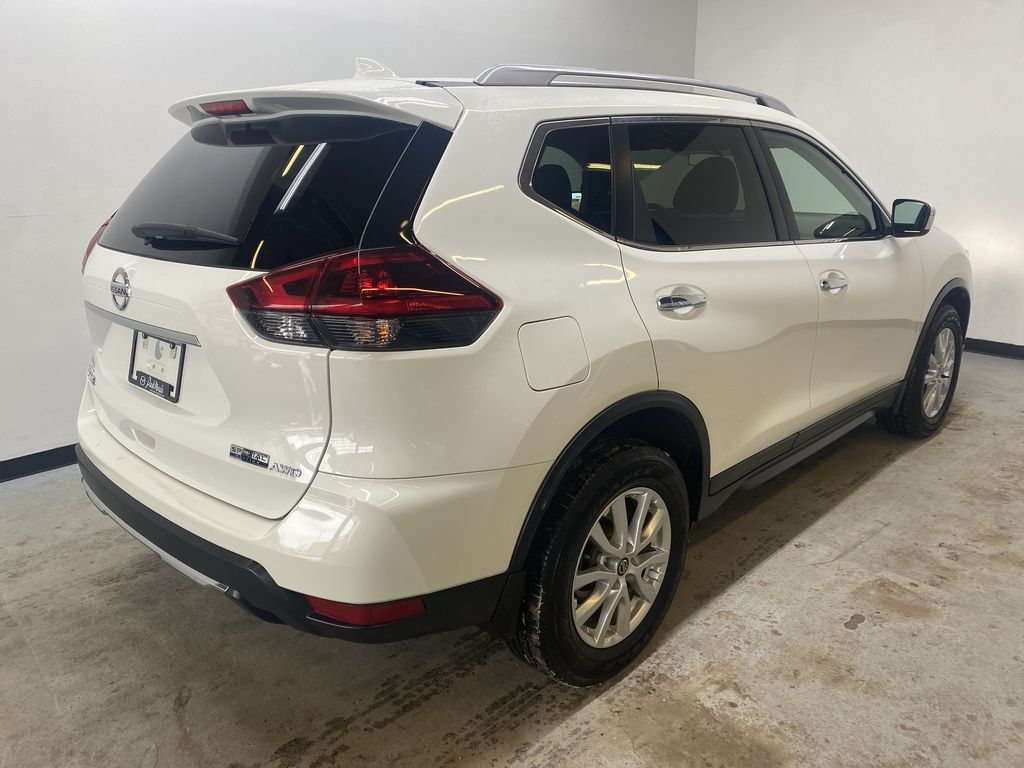 WHITE 2020 Nissan Rogue S AWD - Backup Camera, Bluetooth, Blind Spot Monitor Right Rear Corner Photo in Edmonton AB