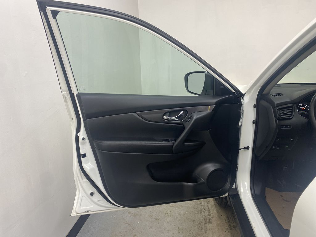 WHITE 2020 Nissan Rogue S AWD - Backup Camera, Bluetooth, Blind Spot Monitor Left Front Interior Door Panel Photo in Edmonton AB