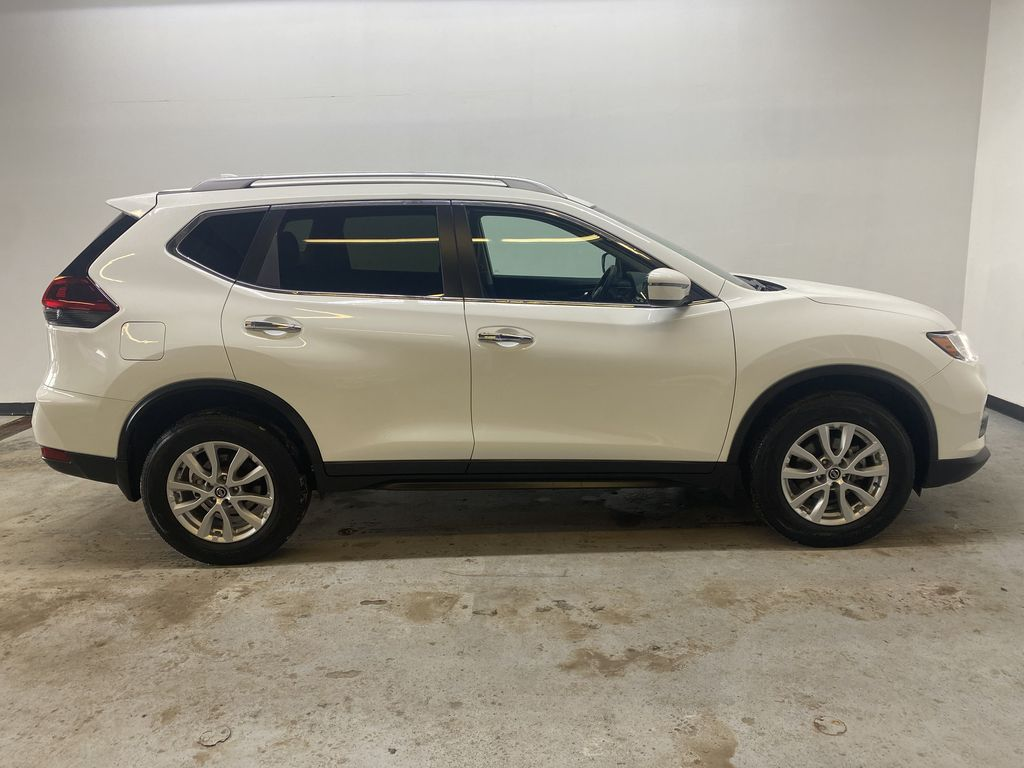 WHITE 2020 Nissan Rogue S AWD - Backup Camera, Bluetooth, Blind Spot Monitor Right Side Photo in Edmonton AB