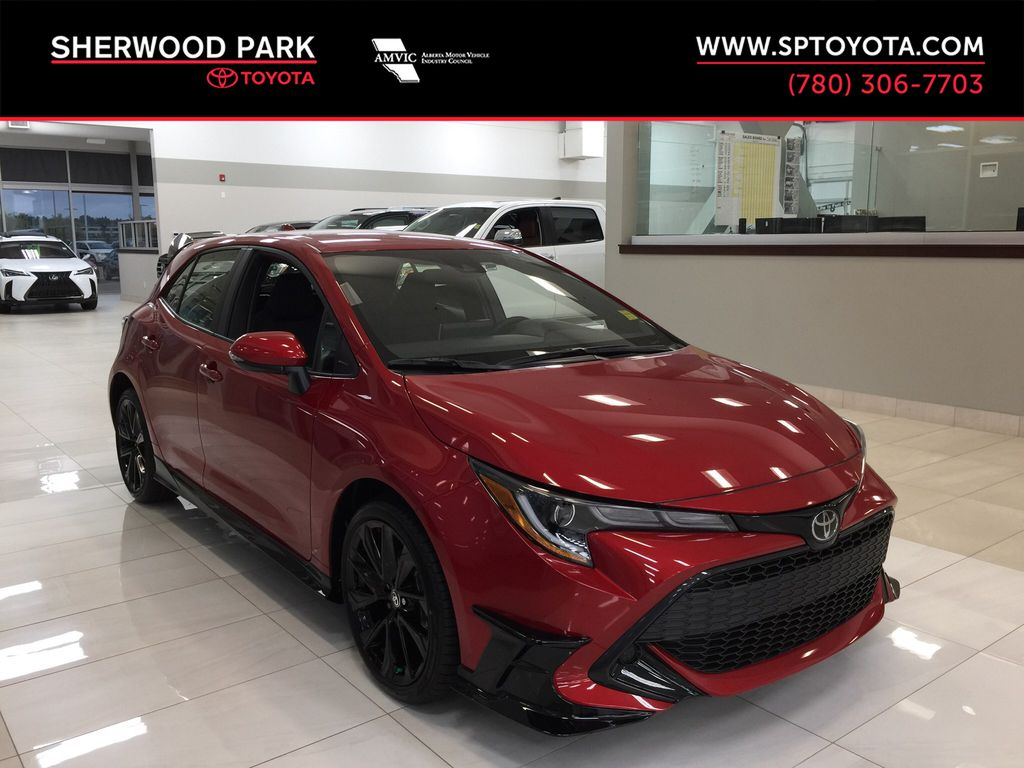 Red[Supersonic Red] 2021 Toyota Corolla Special Edition Hatchback
