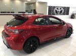 Red[Supersonic Red] 2021 Toyota Corolla Special Edition Hatchback Right Side Photo in Sherwood Park AB