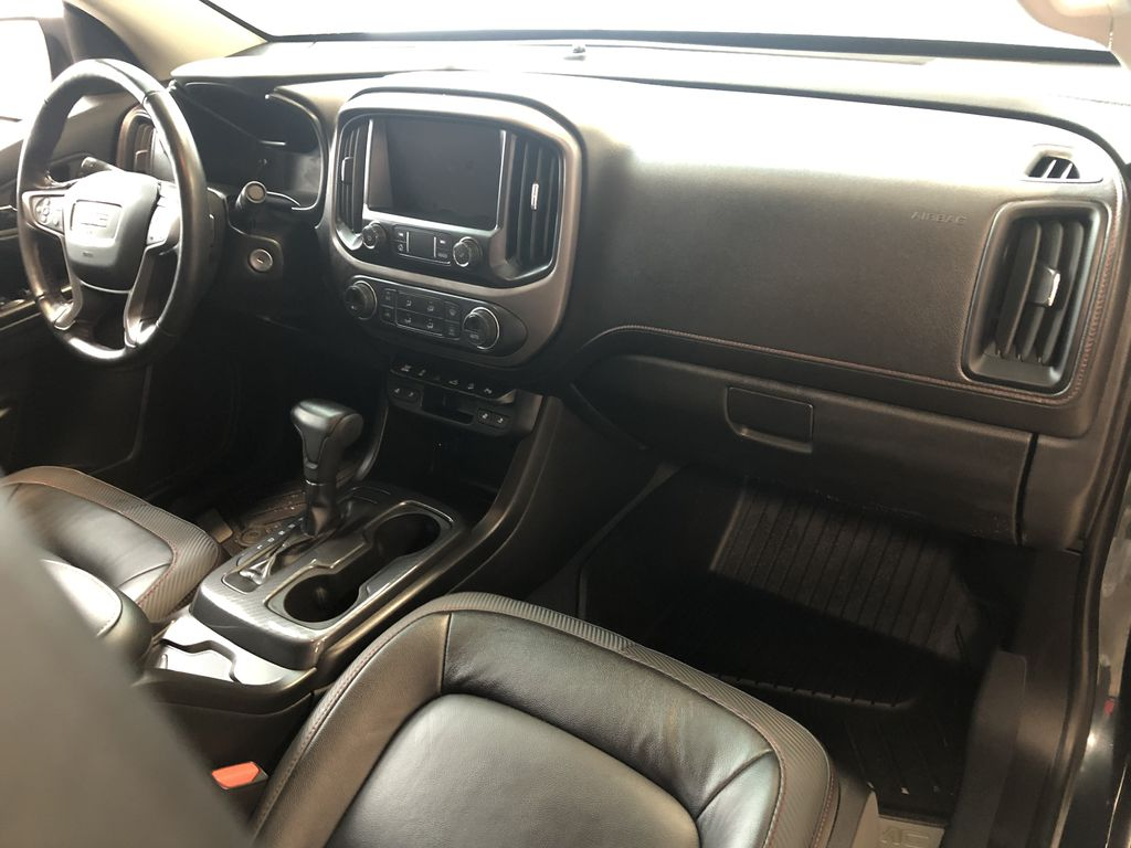 Blue 2019 GMC Canyon 4WD All Terrain Diesel Left Front Seat Photo in Edmonton AB