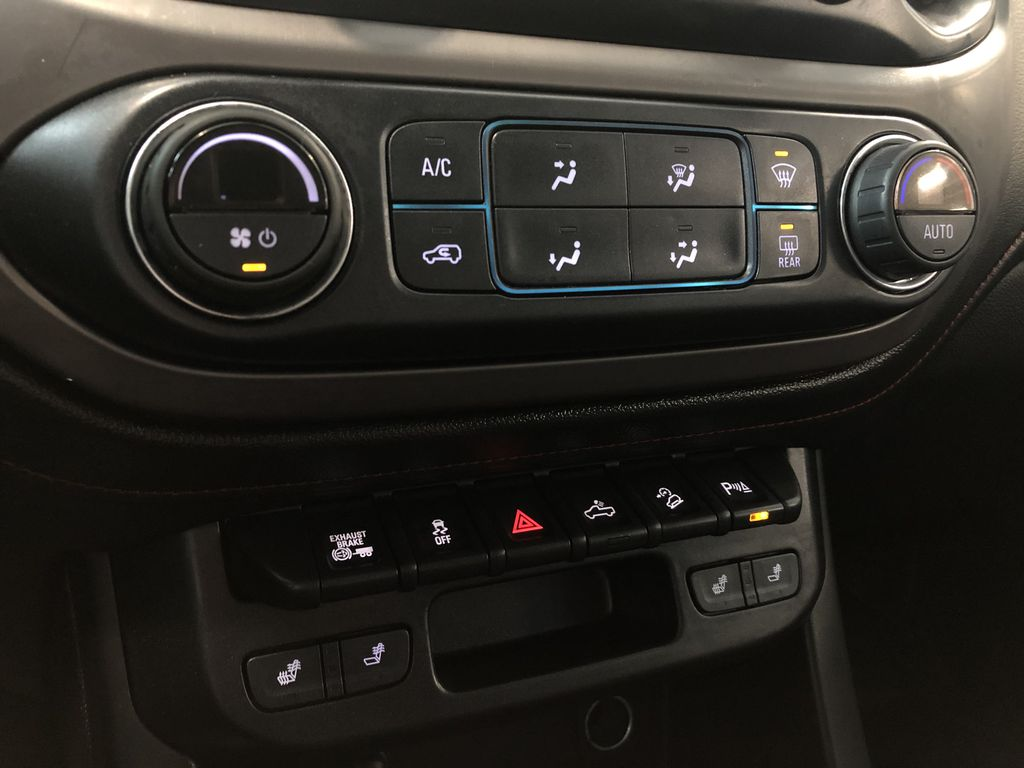 Blue 2019 GMC Canyon 4WD All Terrain Diesel Engine Compartment Photo in Edmonton AB