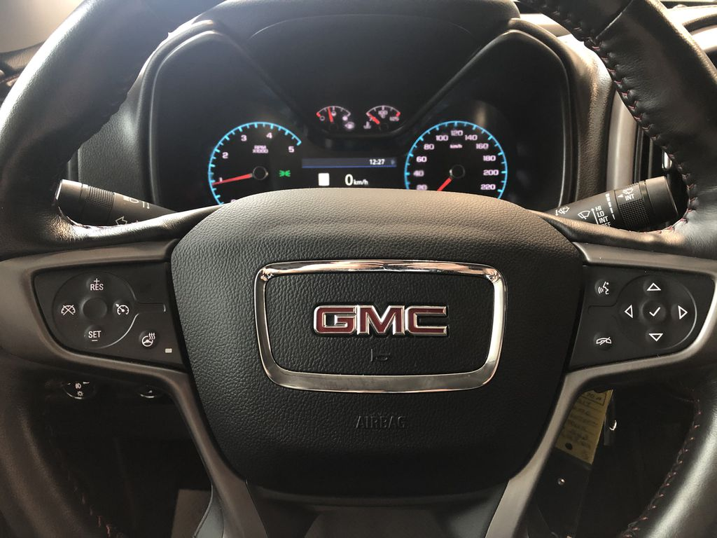 Blue 2019 GMC Canyon 4WD All Terrain Diesel Left Front Head Light / Bumper and Grill in Edmonton AB