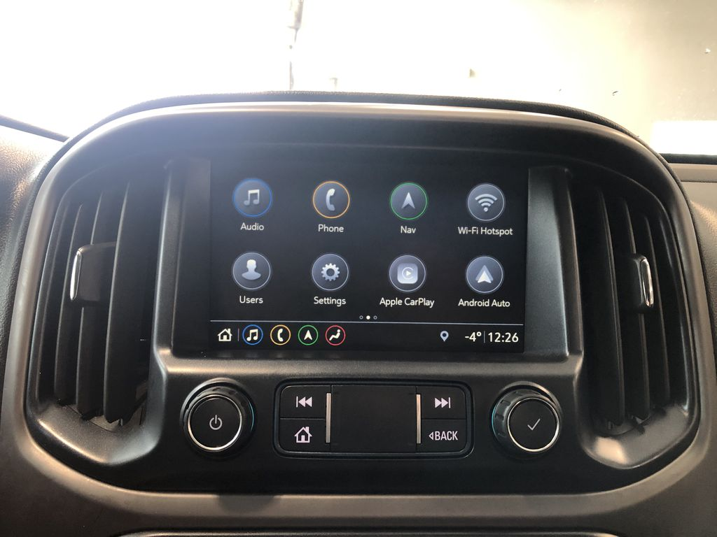 Blue 2019 GMC Canyon 4WD All Terrain Diesel Left Front Rim and Tire Photo in Edmonton AB