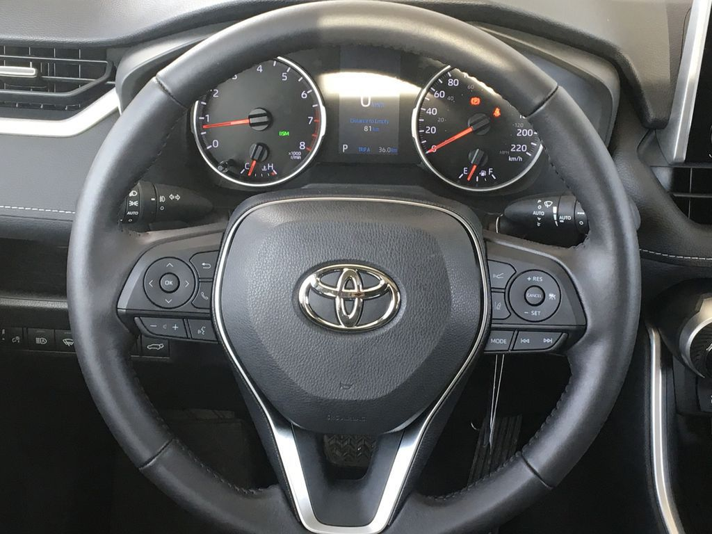 Red[Ruby Flare Pearl] 2021 Toyota RAV4 XLE Premium Odometer Photo in Kelowna BC