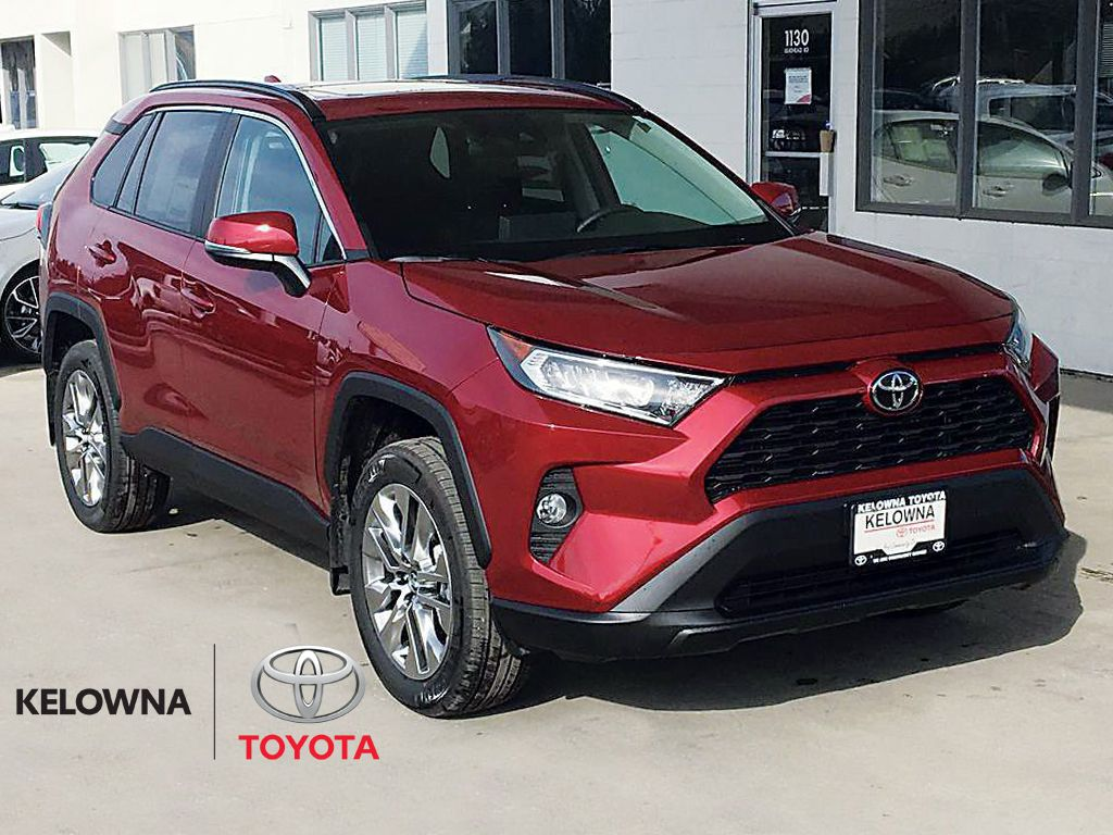 Red[Ruby Flare Pearl] 2021 Toyota RAV4 XLE Premium