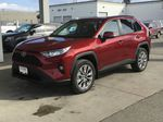 Red[Ruby Flare Pearl] 2021 Toyota RAV4 XLE Premium Left Front Corner Photo in Kelowna BC