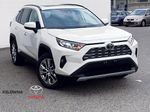 White[Blizzard Pearl] 2021 Toyota RAV4 Limited Primary Listing Photo in Kelowna BC