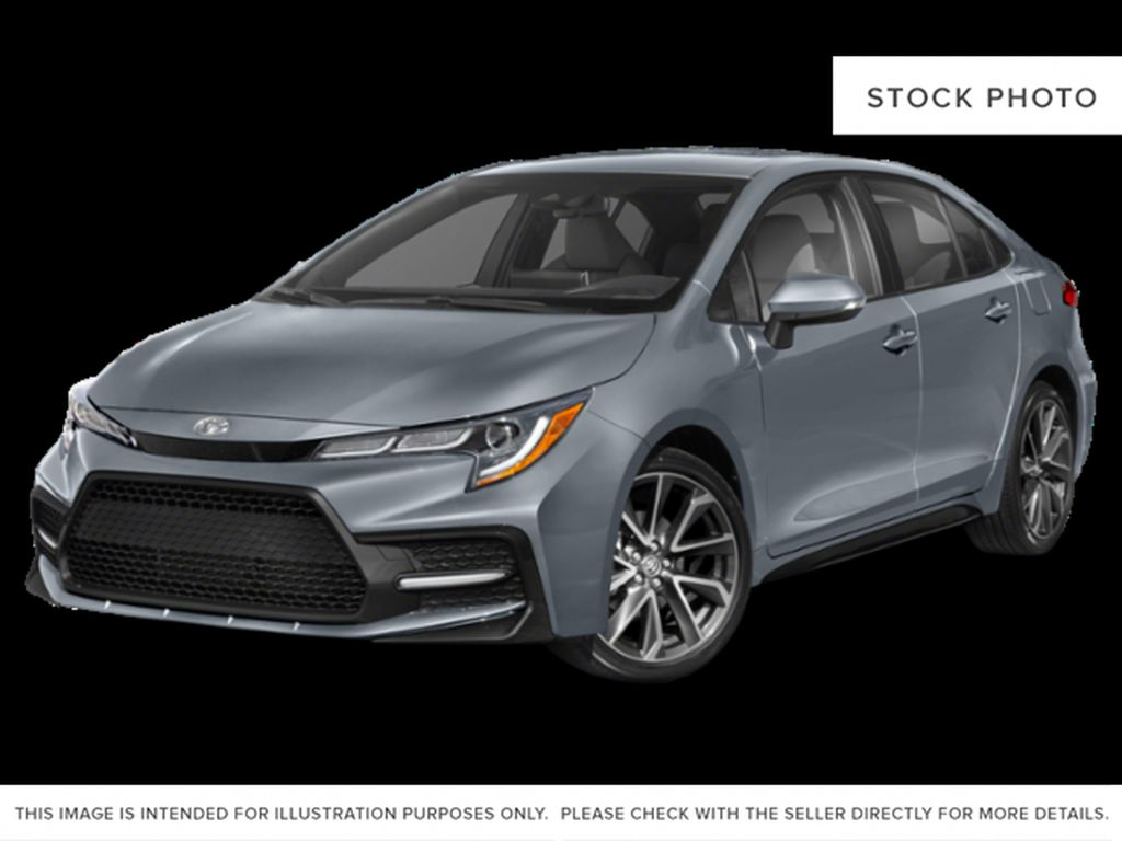 Gray[Cement Grey w/Black Roof] 2021 Toyota Corolla SE