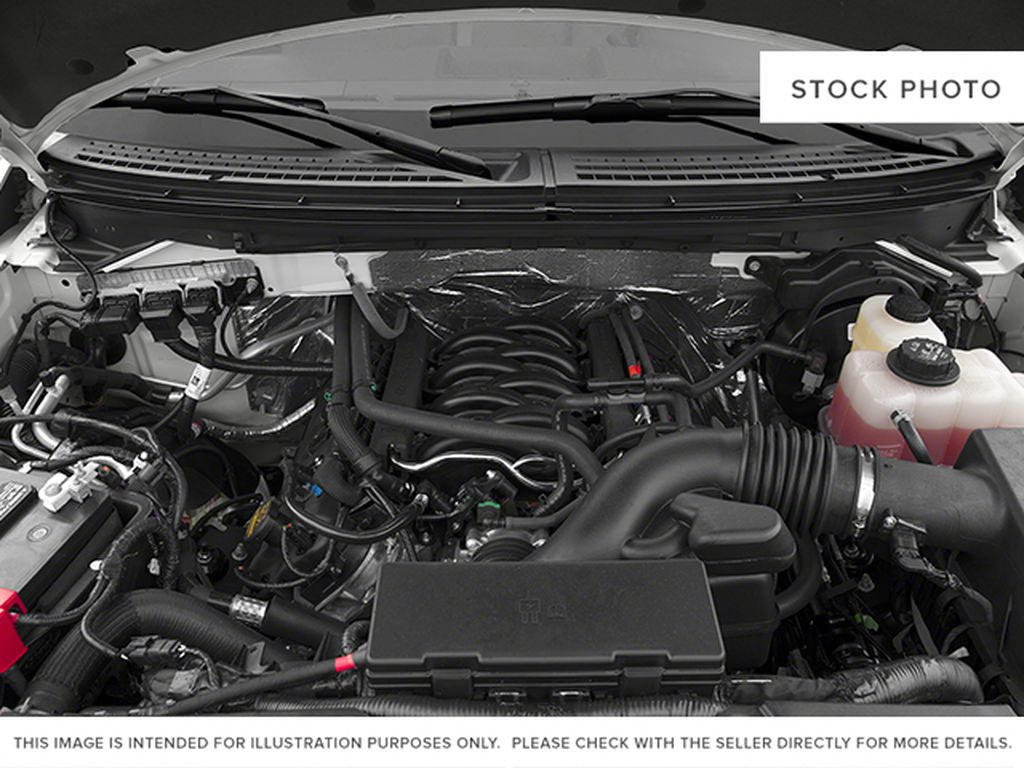 Red[Race Red] 2014 Ford F-150 Engine Compartment Photo in Fort Macleod AB
