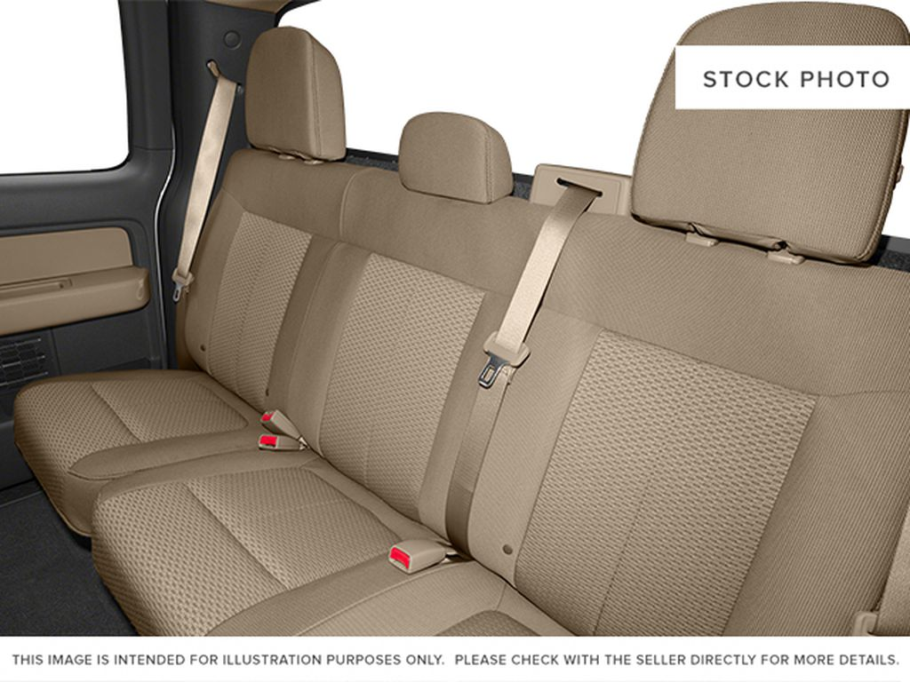 Red[Race Red] 2014 Ford F-150 Left Side Rear Seat  Photo in Fort Macleod AB