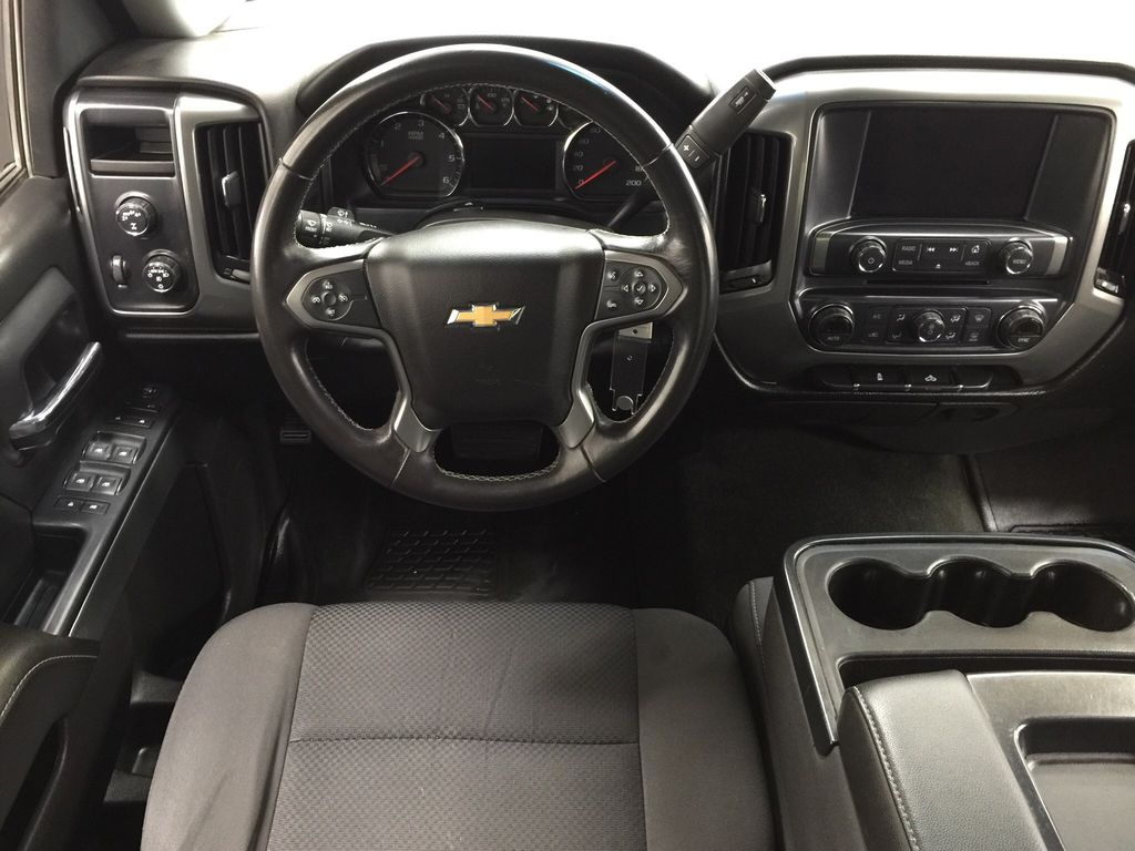 Blue[Deep Ocean Blue Metallic] 2018 Chevrolet Silverado 1500 Left Front Seat Photo in Sherwood Park AB