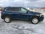 """Blue 2018 Jeep Cherokee North 4x4 *Heated Seats/Wheel* *Remote Start* *8.4"""" Touchscreen* Right Side Photo in Brandon MB"""