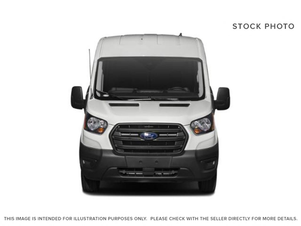 White[Oxford White] 2020 Ford Transit Cargo Van Front Vehicle Photo in Dartmouth NS