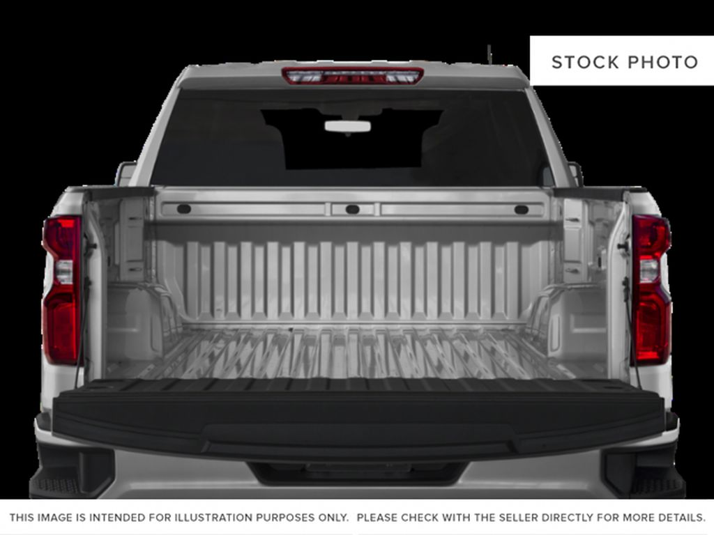 Gray[Shadow Grey Metallic] 2021 Chevrolet Silverado 1500 Custom Trunk / Cargo Area Photo in Canmore AB