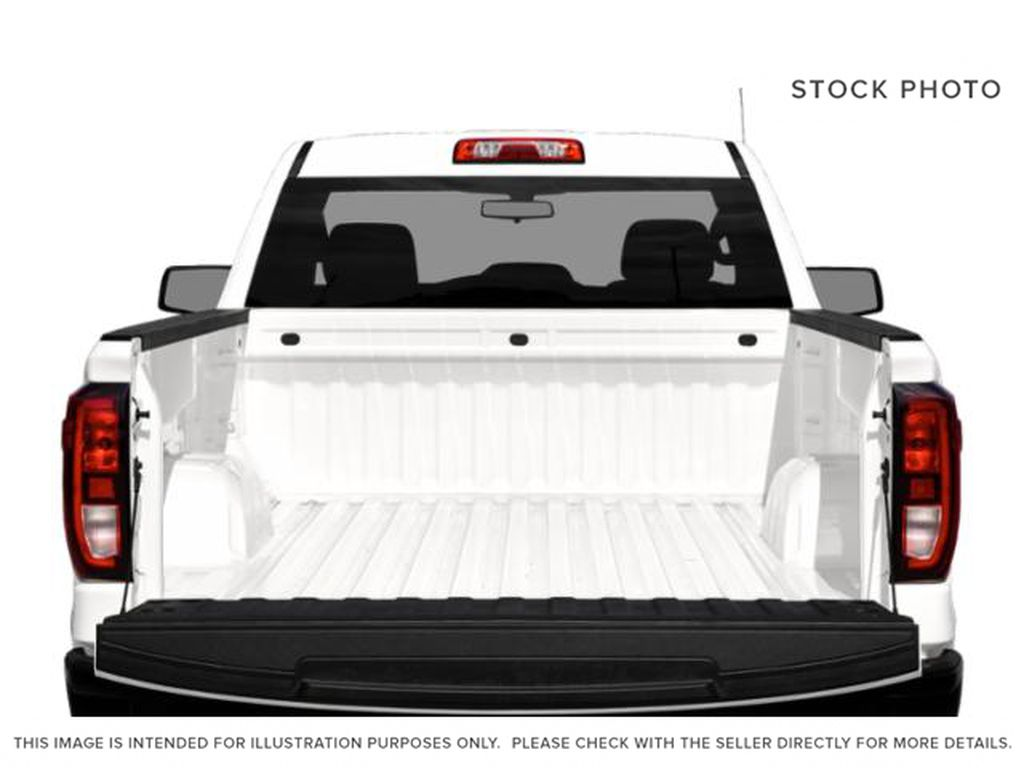 White[Summit White] 2021 GMC Sierra 1500 Trunk / Cargo Area Photo in Edmonton AB