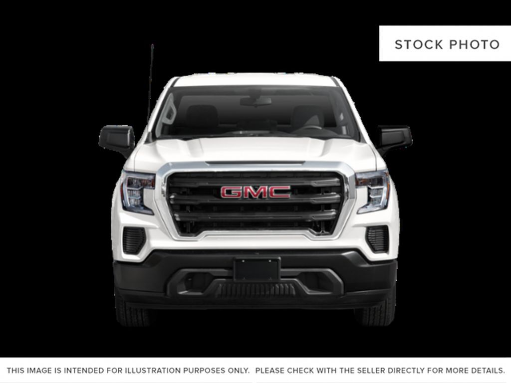 White[Summit White] 2021 GMC Sierra 1500 Front Vehicle Photo in Edmonton AB