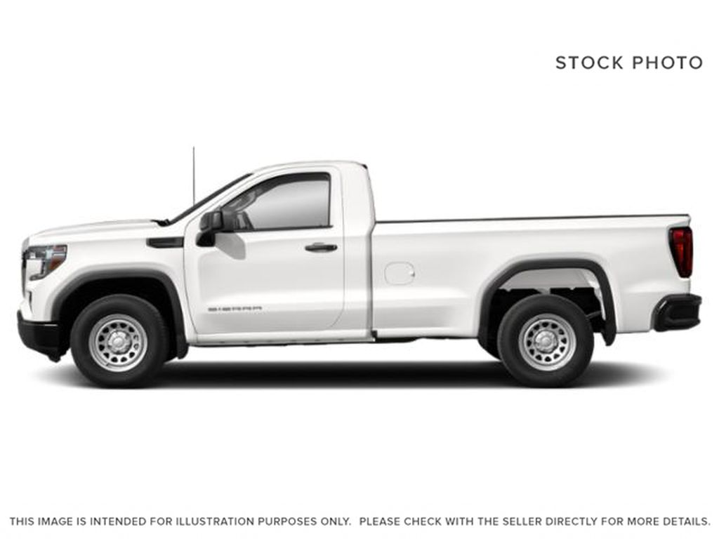 White[Summit White] 2021 GMC Sierra 1500 Left Side Photo in Edmonton AB
