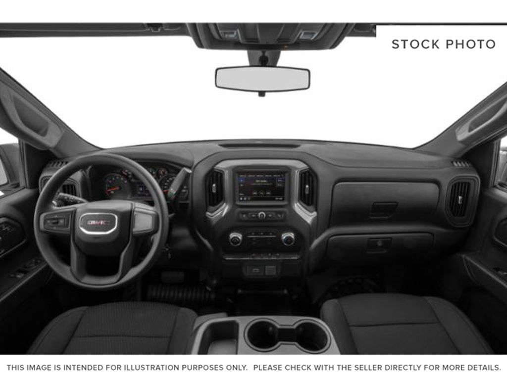 White[Summit White] 2021 GMC Sierra 1500 Central Dash Options Photo in Edmonton AB