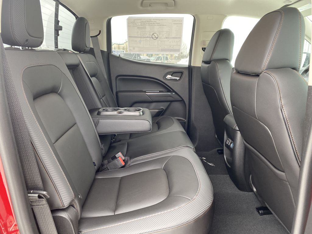 Red[Cayenne Red Tintcoat] 2021 GMC Canyon Right Side Rear Seat  Photo in Edmonton AB