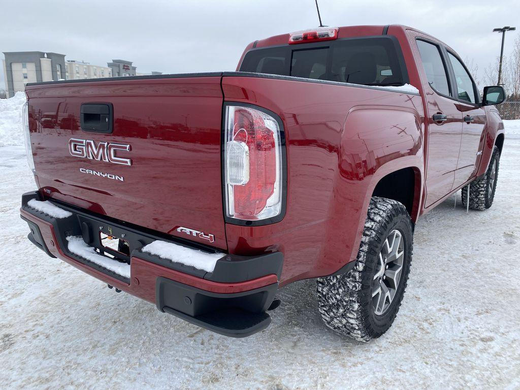 Red[Cayenne Red Tintcoat] 2021 GMC Canyon Right Rear Corner Photo in Edmonton AB