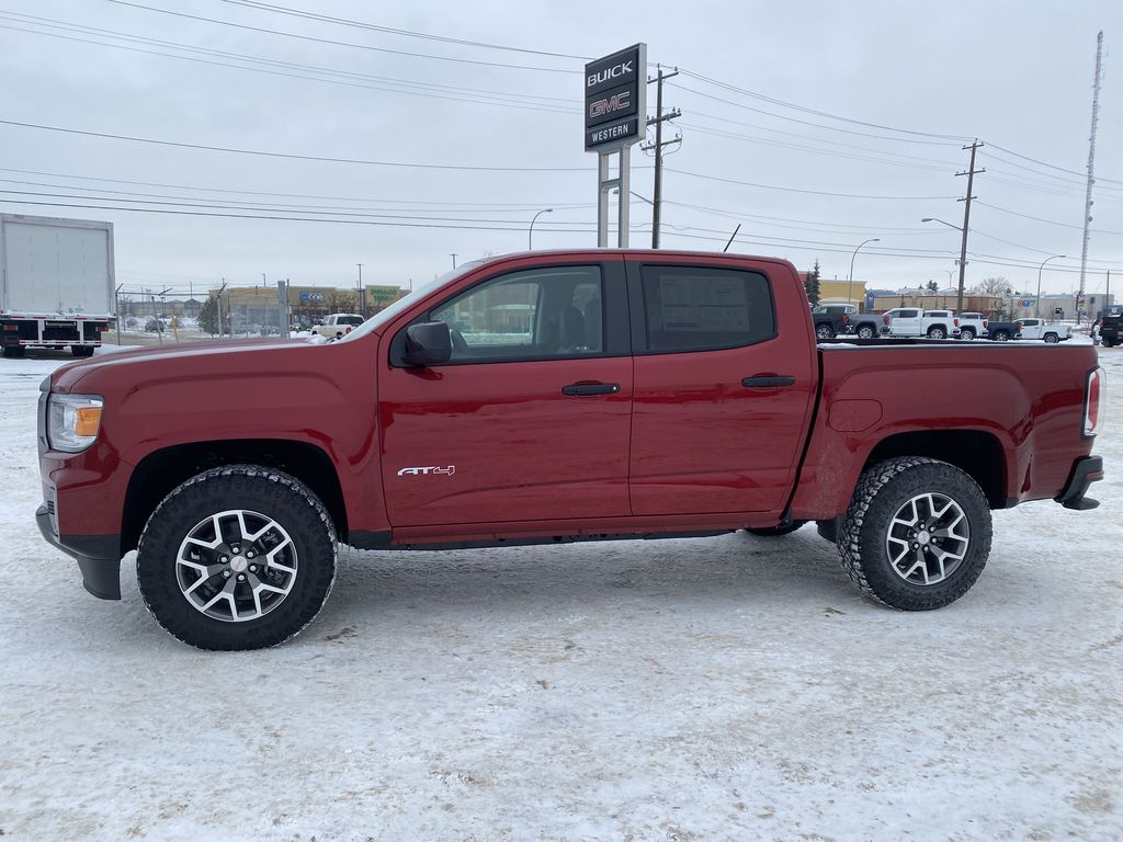 Red[Cayenne Red Tintcoat] 2021 GMC Canyon Left Side Photo in Edmonton AB