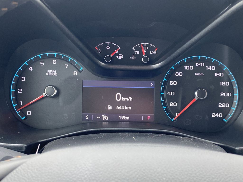Red[Cayenne Red Tintcoat] 2021 GMC Canyon Odometer Photo in Edmonton AB