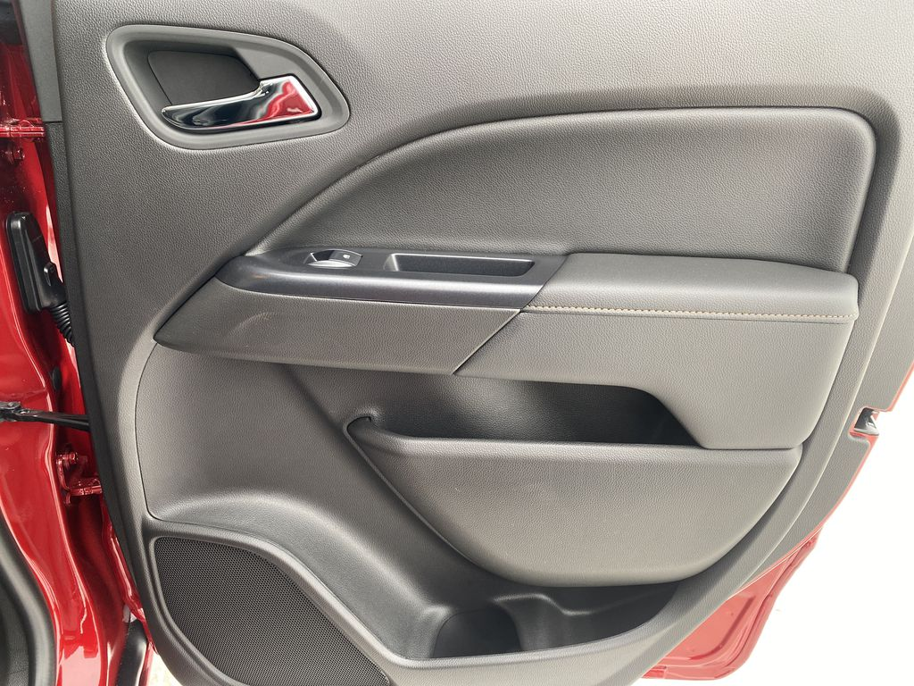 Red[Cayenne Red Tintcoat] 2021 GMC Canyon Right Rear Interior Door Panel Photo in Edmonton AB