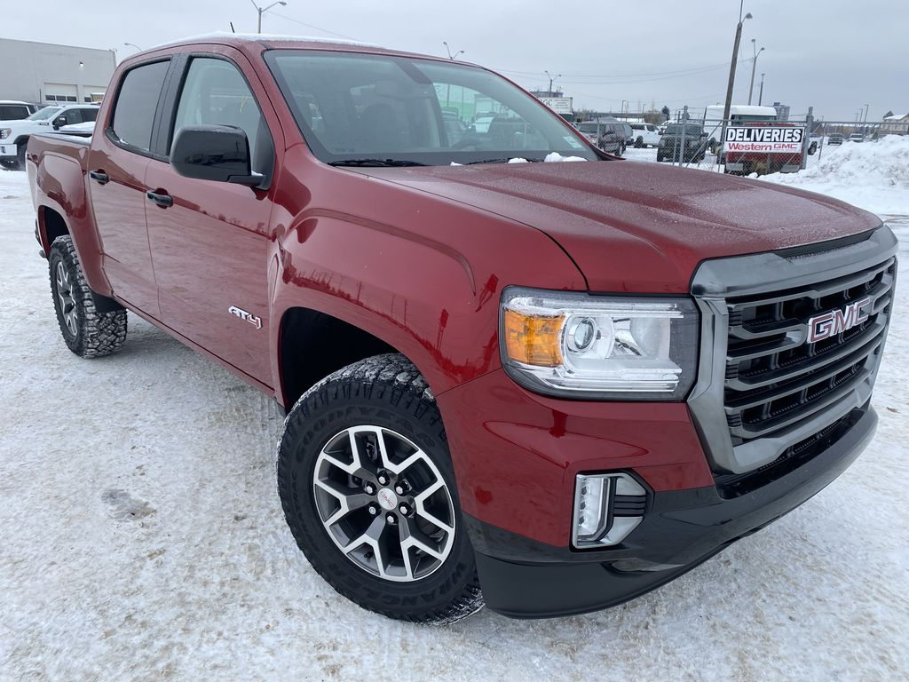 Red[Cayenne Red Tintcoat] 2021 GMC Canyon