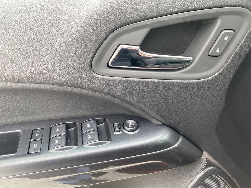 Red[Cayenne Red Tintcoat] 2021 GMC Canyon  Driver's Side Door Controls Photo in Edmonton AB