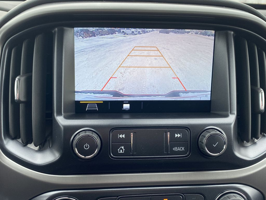 Red[Cayenne Red Tintcoat] 2021 GMC Canyon Backup Camera Closeup Photo in Edmonton AB