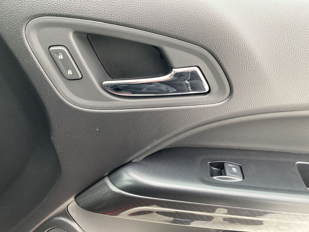 Red[Cayenne Red Tintcoat] 2021 GMC Canyon Passenger Front Door Controls Photo in Edmonton AB