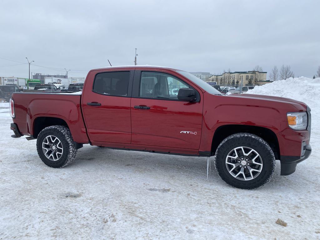 Red[Cayenne Red Tintcoat] 2021 GMC Canyon Right Side Photo in Edmonton AB
