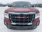 Red[Cayenne Red Tintcoat] 2021 GMC Canyon Front Vehicle Photo in Edmonton AB